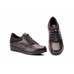 Zapatos Mujer Piel  Elásticos