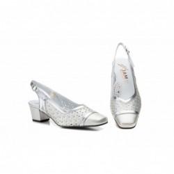 Zapatos Mujer Piel Picado...