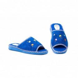 Zapatillas Mujer Azul Helados