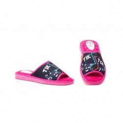 Zapatillas Mujer Marino Rosa