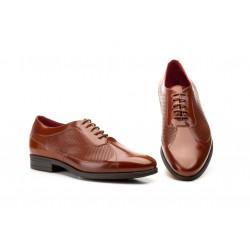 Zapatos Hombre Piel Picada...