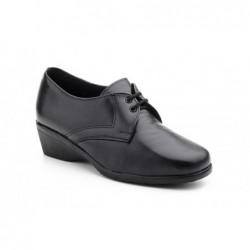 Zapatos Mujer Cuña Piel...