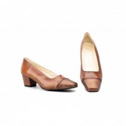 Zapatos Mujer Piel Tacón