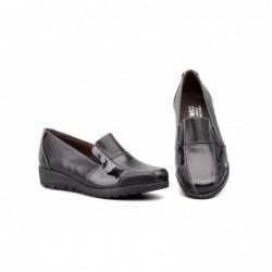 Zapatos Mujer Piel Cuña