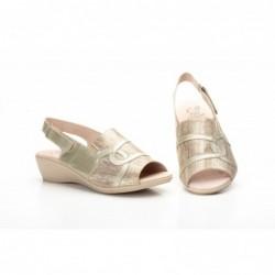 Zapatos Mujer Piel Cuña...