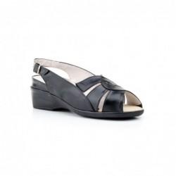 Zapatos Mujer Piel  Hebilla...
