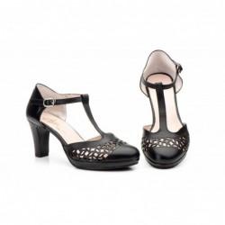 Zapatos Mujer Piel  Láser
