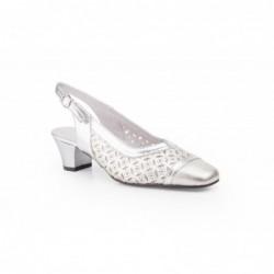 Zapatos Mujer Piel Picado
