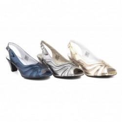 Zapato Mujer Piel Tacón