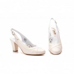 Zapatos Mujer Piel Ancho...