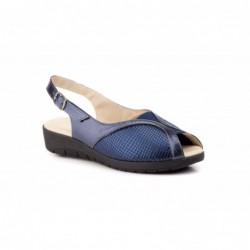 Zapatos Mujer Piel  Licra