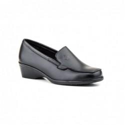Zapato Mujer Piel  Cuña