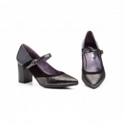 Zapatos Mujer Piel  Tacón...