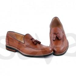 Zapato de caballero en piel