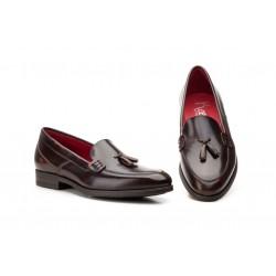 Zapatos Hombre Piel  Borlas